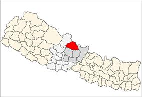 Location of Manang