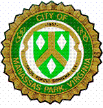 Official seal of Manassas Park, Virginia