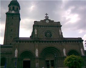 Facade of the Manila Cathedral
