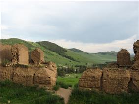 The ruins of the Mandsushir monastery