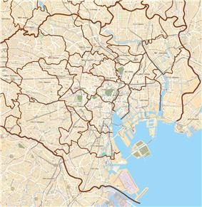 Waseda University is located in Special wards of Tokyo