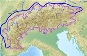 Alpine glaciations