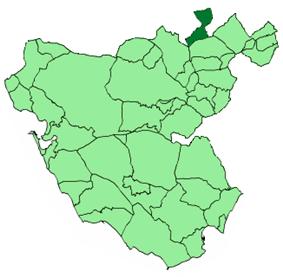 Location of Puerto Serrano