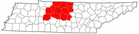 Map of The Mid-State