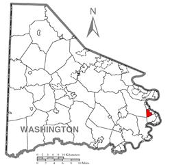 Location of Twilight in Washington County