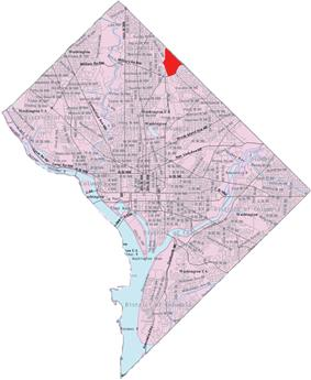 Riggs Park within the District of Columbia