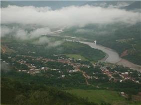 Mapiri and the Mapiri River, La Paz Department