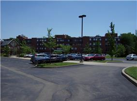 Part of the Maple Knoll Village retirement complex