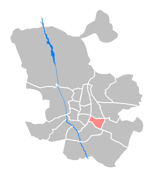 Location of Moratalaz