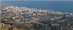 Skyline of Marbella
