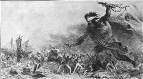 Barbaric Russian invasion.
