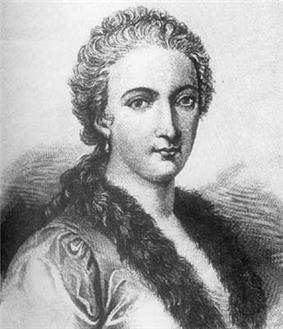 Italian mathematician and philosopher Maria Gaetana Agnesi