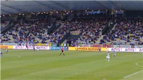 Maribor playing at home against Mura 05 during the 2011–12 season