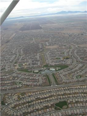 Residential developments dominate the landscape of Maricopa.