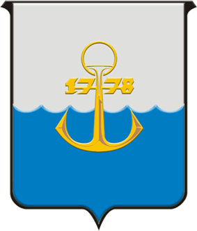 Coat of arms of Маріу́поль (Ukrainian)