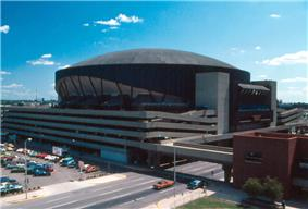 Market Square Arena in 1982