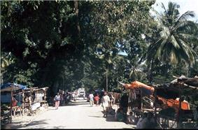 Marketplace in Viqueque