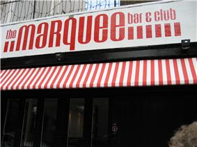Enter to Marquee Club on Upper Saint Martins Lane