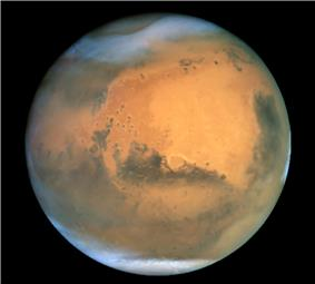 NASA image of Mars
