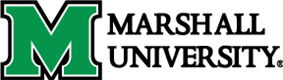 The logo for Marshall University