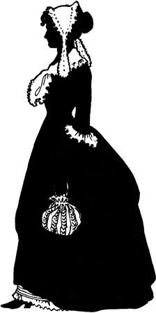 Silhouette of Martha Jefferson