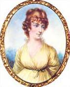 Portrait painting of Martha Jefferson