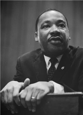 Martin Luther King in 1964
