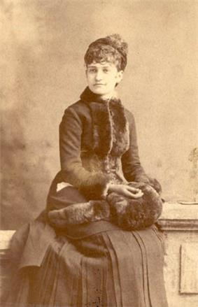 Portrait of Mary Harrison McKee
