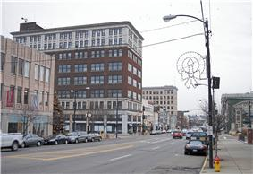Lincoln Way in downtown Massillon in 2006