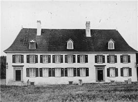 Mauvide-Genest Manor in 1930