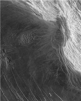 Maxwell Montes, tallest point on Venus