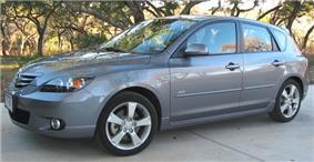 Mazda3 hatchback.