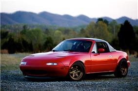 A first generation Mazda Eunos.