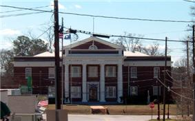 The McCormick County courthouse