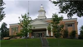 McCreary County courthouse in Whitley City