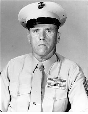 black & white photograph of Thomas J. McHugh