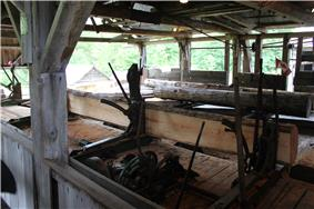 Interior of McLean Mill