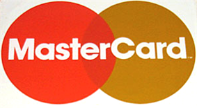 First MasterCard logo used from 16 December 1979 to 1988