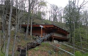 Meadowcroft Rockshelter, one of North America's most significant archaeological sites