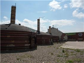 Kilns at Medalta Potteries in Medicine Hat