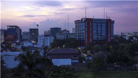 Skyline of Medan, 2013