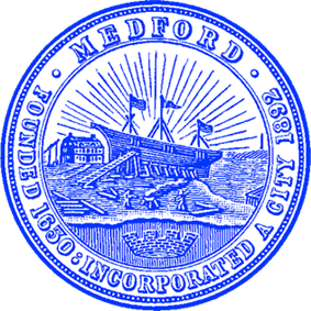Official seal of Medford, Massachusetts