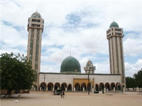 The Mosque in Medina Baay, Kaolack