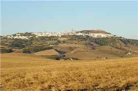 Skyline of Medina-Sidonia