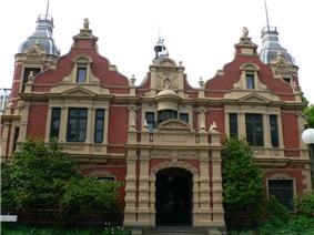 Melbourne university 1888 buildings.jpg