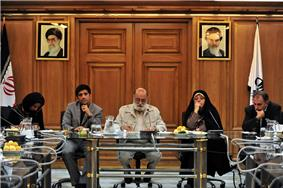 Members of Tehran Council and Sohrab's Mother.jpg