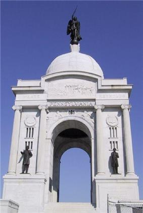Pennsylvania Memorial at the Gettysburg National Military Park