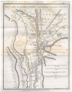 Memphis, Egypt in 1799.