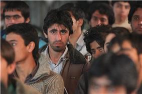 Camera focusing on Baloch
