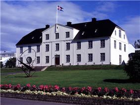 The main building of Menntaskólinn í Reykjavík